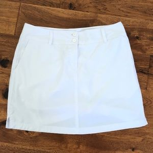 Adidas climacool white/golf tennis skirt size 10